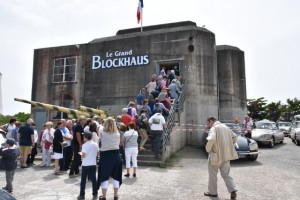 Visite du grand Blockhaus